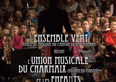 Ecole de Musique du Canton de La Chambre, concert de Noël
