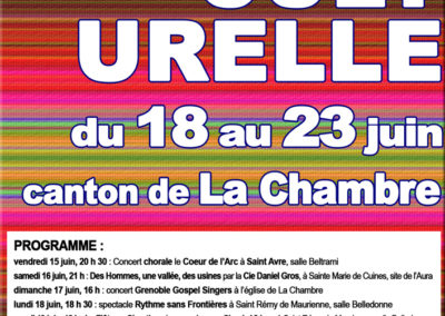 Ecole de Musique du canton de La Chambre, semaine culturelle