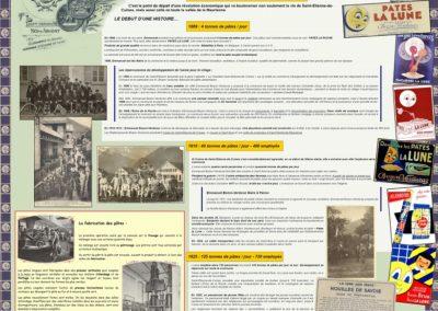 Exposition 150 ans d'histoire de Cuines, les établissements Bozon Verduraz