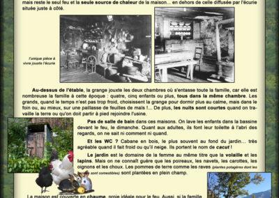 Musée ouvert de Saint Etienne de Cuines, l'habitat (Le Fontagneux)