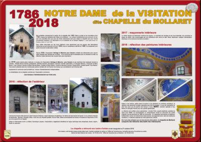 Musée ouvert de Saint Etienne de Cuines, la Chapelle du Mollaret (Le Mollaret)